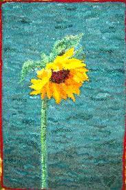 Sunflower Rugs November 2014 Hooked On The Lake