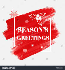 seasons greetings sign text stock vector 525368065