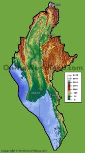 Map Burma Burma Maps Maps Of Burma Myanmar