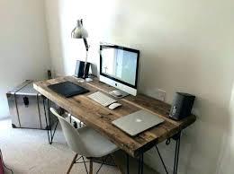 Industrial Computer Desks Wood Office Desks Wooden Office Desk Fancy Ideas Best Wood On