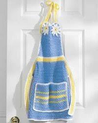 8 free crochet apron patterns allfreecrochet