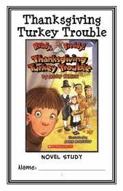 ready freddy thanksgiving turkey trouble klein novel study