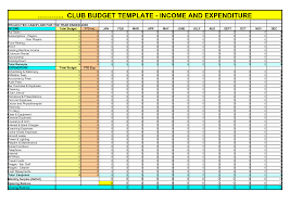 Monthly Expenses Spreadsheet Budget Spreadsheet Template For Income And Expenditure Activities