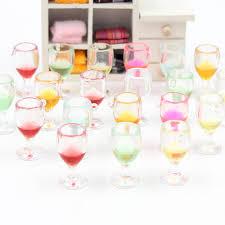 costo bicchieri di plastica 20 pz multicolor mini bicchiere di vino decorazione di diy