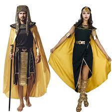 Egyptian Pharaoh Halloween Costume 2017 Quality Cleopatra Pharaoh Costume Egyptian