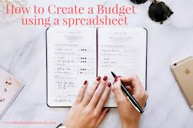 How Do I Create A Spreadsheet Blissful And Domestic Creating A Beautiful Life On Less How To