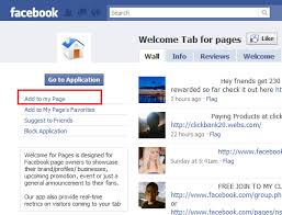 create facebook fan page customize your facebook fan page with a welcome tab