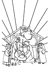 images baby jesus manger free download clip art free