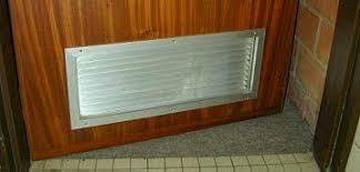 grille aeration chambre la ventilation simple flux