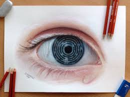 eye maze pencil drawing by atomiccircus on deviantart