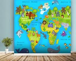 kids map wallpaper u0026 childrens map wall murals wallsauce