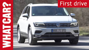 tiguan volkswagen 2016 volkswagen tiguan driven what car first drive youtube