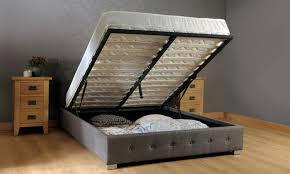 Fabric Ottoman Storage Endearing Fabric Ottoman Bed Fabric Ottoman Storage Bed Groupon