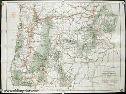 road and information map for the national forests of oregon u s