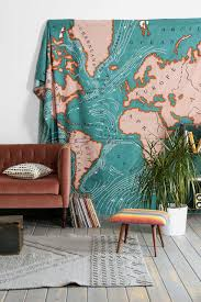 Map Tapestry Design Ideas Wall Tapestry Journal De Jalune