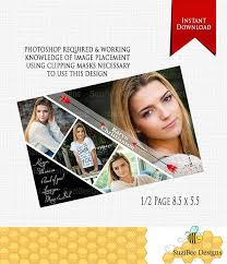 senior yearbook ad templates downloadable yearbook ad template half page photoshop