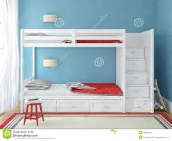 chambre a coucher enfants la chambre à coucher des enfants illustration stock illustration
