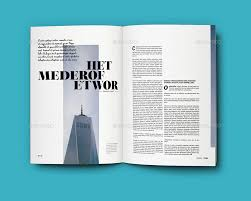indesign a4 magazine template 2 by sacvand graphicriver