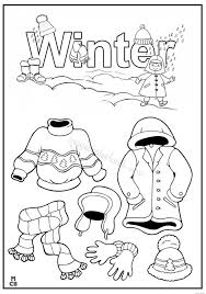 winter free color pages kids magic color book worksheet
