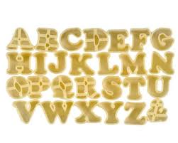 cookie cutters alphabet cookie cutters wilton cookie cutters