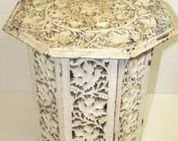 Moroccan Side Table Moroccan Table Etsy