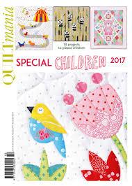 special issue for children 2017 quiltmania magazine