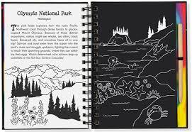 national parks u0026 landmarks trace along scratch u0026 sketch activity