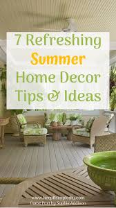 Just Home Decor 7 Refreshing Summer Home Decor Tips U0026 Ideas Keep It Simple Diy