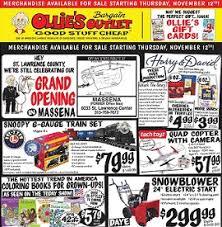 snow blower sales black friday ollie u0027s pre black friday 2015 sale ad