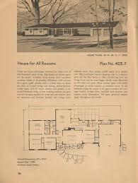 mid century modern floor plans anelti com vintage house hahnow