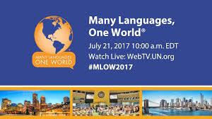 many languages one world