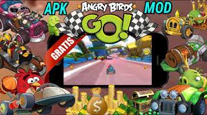 angry birds go mod apk baixar gratis angry birds go v 2 7 3 apk mod dinheiro infinito