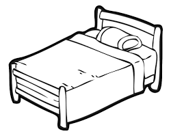 Black And White Bed by White Bed Cliparts Free Download Clip Art Free Clip Art On