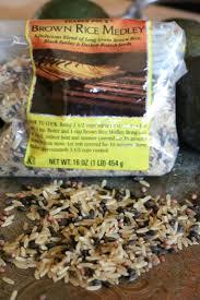 thanksgiving mix mushroom u0026 pea rice medley