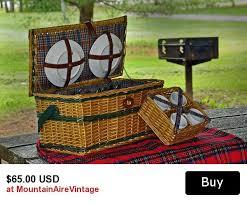 picnic basket set for 4 best 25 picnic basket set ideas on picnic baskets