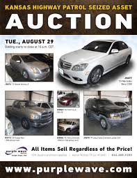 kansas highway patrol seized asset auction in topeka kansas by