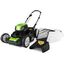 amazon com greenworks pro 21 inch 80v cordless lawn mower