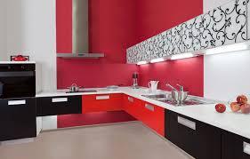 Red Black White Kitchen - 75 modern kitchen designs photo gallery designing idea