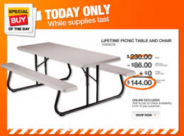Lifetime Folding Picnic Table Lifetime Folding Picnic Table 144 Shipped From 230