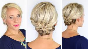 step by step braid short hair bohemian braids for short hair diy youtube