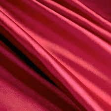 jn00085 red 3 stretch satin spandex blend soft sheen deep drape