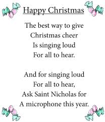 christmas poems kids rhyme my christmas tree wont grow a piddly