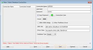tutorial oracle data modeler java connecting derby db to oracle sql data modeler stack overflow