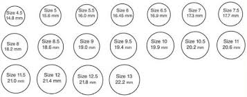 sizing rings online images Find your ring size palace rings
