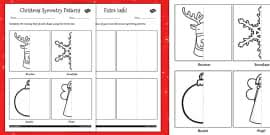 christmas mindfulness colouring paper chain christmas