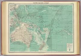 South Pacific Map South Pacific Ocean David Rumsey Historical Map Collection