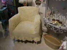 Chenille Armchair Custom Shabby Chic Chair S Vintage Chenille Bedspread Slipcover