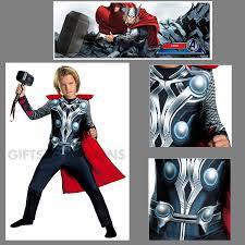 thor halloween costume authentic marvel avengers thor child kids costume cape u0026 jumpsuit