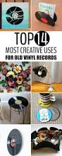 Vinyl Record Wall Mount 14 Most Creative Uses For Old Vinyl Records