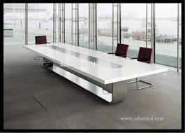 Office Meeting Table Modern Office Acrylic Solid Surface Conference Table Marble